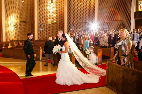 Bridal gown and cathedral length veil. Alabama wedding planner. Lydianobleevents is awesome and will come to you.
