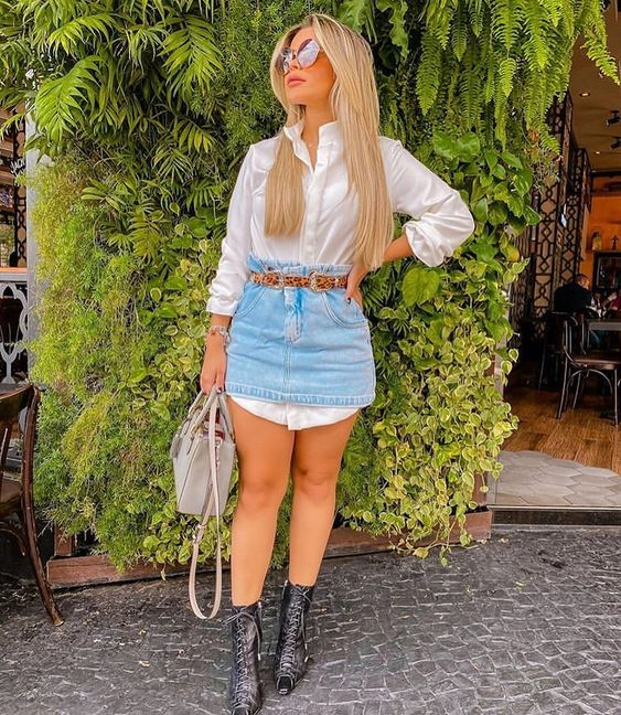 "Universo Feminino✨ on Instagram: ""Usariam? ✨ #coutrylife #lookjeans #look #amazonas #modadodia #looklindo #manaus #blogueira"""