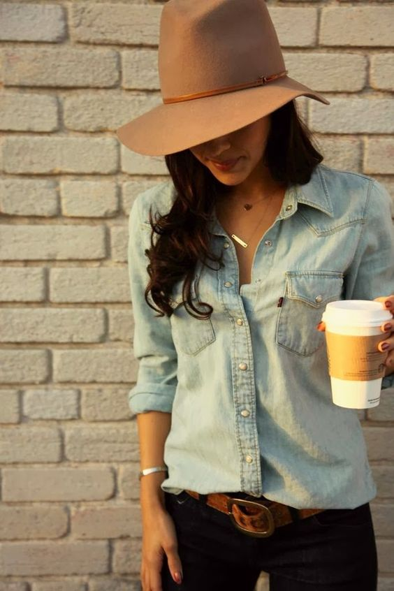 The HONEYBEE: denim on denim