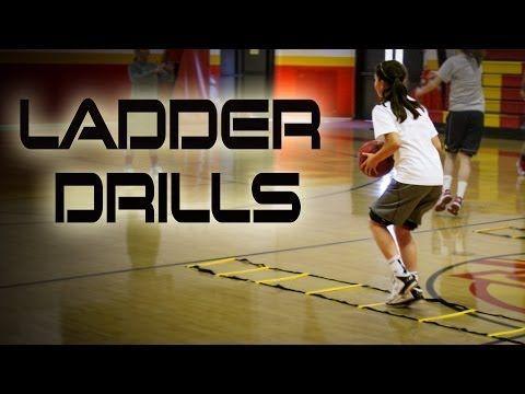Quick Feet Training With Ladder Drills Girls Basketball