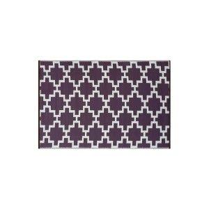 120x180 Teppich - Lila/Weiß