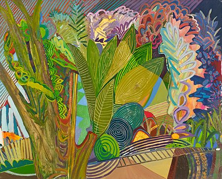Karla Wozniak Gregory Lind Gallery, San Francisco, California Recommendation by DeWitt Cheng