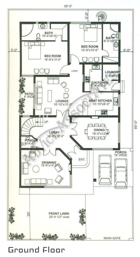 Image Result For Bahria Enclave Marla House Plan Also Naksha Rh Za Pinterest House Map 10 Marla House Plan Home Map Design