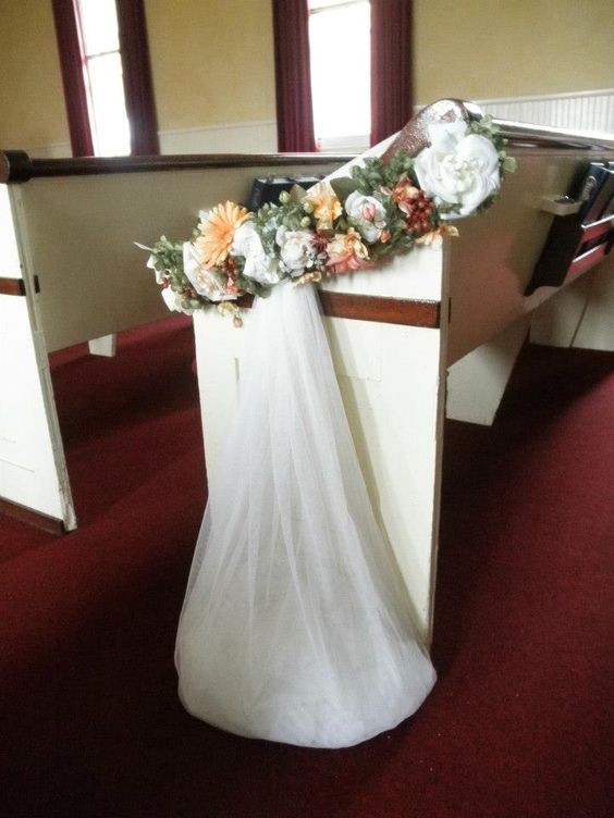 gorgeous floral for wedding ceremony