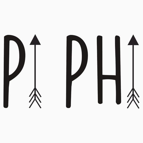 High quality Pi Beta Phi  inspired T-Shirts, Posters, Mugs and more by independent artists and de...