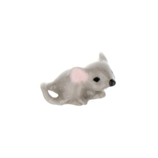 Hagen Renaker Miniature Mouse Baby Curled Tail Ceramic Figurine Ceramic Figurines Baby Mouse Figurines