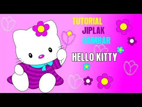 Tutorial Desain Hello Kitty Doll Youtube Anak Kucing Belajar Menggambar Hello Kitty