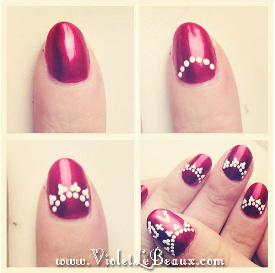 Toe Nail Art Tutorials: How To Do Simple Nail Art Designs For Beginners Step By