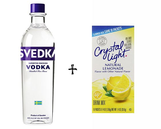 Backcountry bartender delicious easy backpacking for Delicious drink recipes with vodka