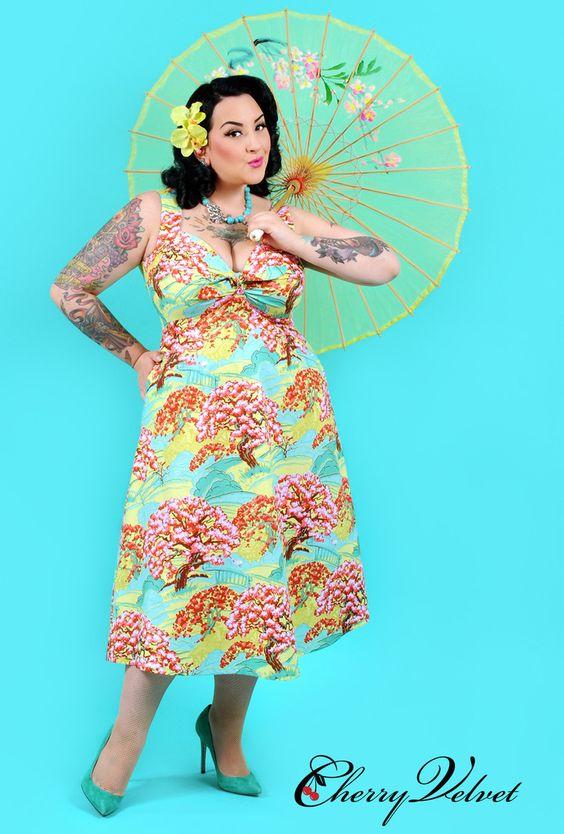 Melody Dress - Cherry Orchard