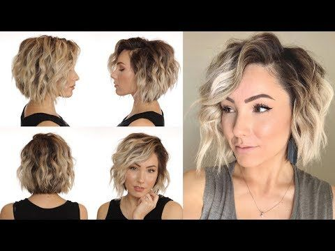 How To Wand Curl Without A Curling Wand Short Hair Youtube Curling Wand Short Hair How To Curl Short Hair Short Hair With Layers