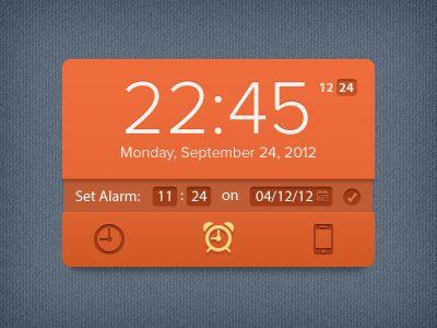 Clock_widget