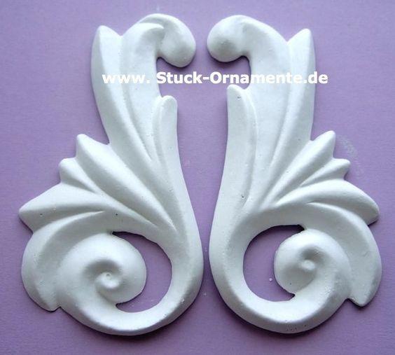 Wandtattoo - Echter Stuck - Stuck Ornament - Fächer - ein Designerstück von RC-Stilmoebel bei DaWanda