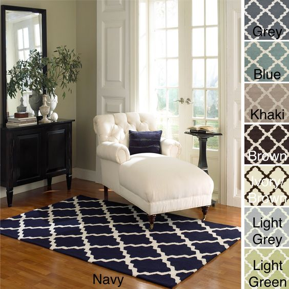 Rugs Wool Rugs And Navy On Pinterest