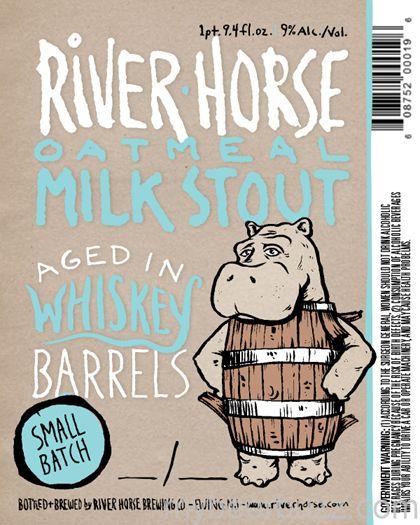 mybeerbuzz.com - Bringing Good Beers & Good People Together...: River Horse - Barrel Aged Oatmeal Milk Stout