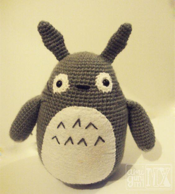 Amigurumis Totoro Patron : Pinterest the world s catalog of ideas