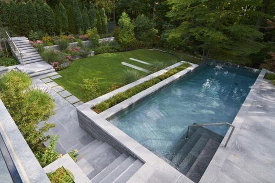 Garden Design Modern Pools From Ecologic City Garden Paul Marie Creation Modern Homify Find Modern Pool Des Garden Pool City Garden Modern Garden Design