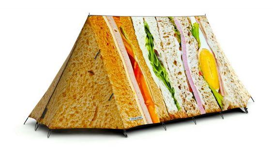 Креативные палатки от FieldCandy
