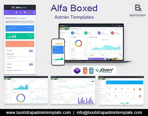 Amazing Alfa Boxed Dashboard Admin Templates And Admin Panel In 2020 Dashboard Template Templates Ecommerce Template