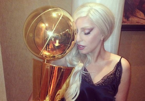 Why Is Lady Gaga Staring Down The NBA Championship Trophy With Her Poker Face? http://makemyfriday.com/2014/10/why-is-lady-gaga-staring-down-the-nba-championship-trophy-with-her-poker-face/ #LadyGaga, #Music, #NBACHAMPIONSHIP, #News, #sanantoniospurs, #Sports