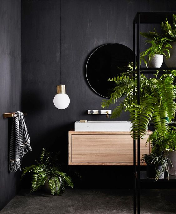 """When @becksimonstylist asks if you want to be part of a shoot for @woodmelbourne, you say YES BECK, OF COURSE BECK, gosh your hair looks nice today Beck :) Photo by @lisacohenphoto. Greenery from @glasshausnursery ;) Happy Saturday! Team DS. X #designstuff #bathroom #bathroomdesign"" : designstuff_group - instagram"