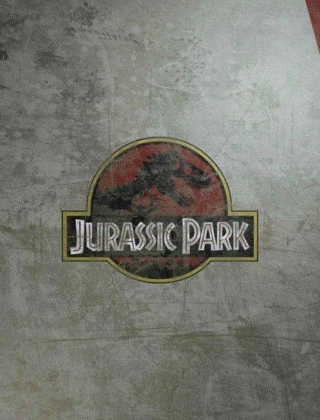 Jurassic Park Logo Iphone Wallpaper