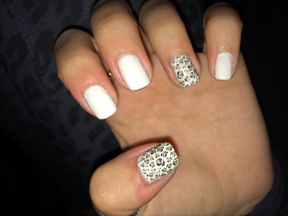Couldn't be more in love with my nails!!!