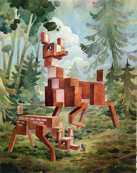 Pixel Bambi