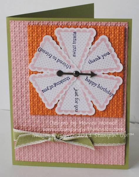 Pennant Parade - Custom Spinner Card