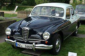 1950 Alfa Romeo 1900 Berlina