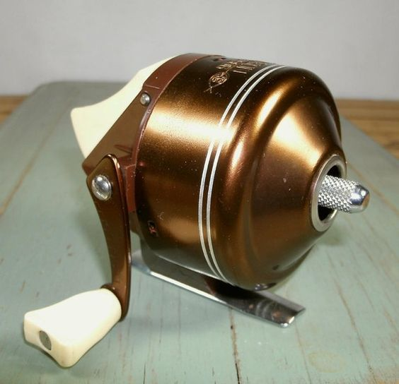 vintage bronson viking 906 fishing reel spin casting | pinterest, Reel Combo