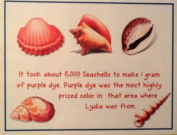 Lydia: Seller of Purple Cloth