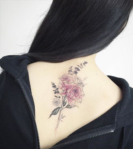 Delicate Flower tattoo from Tattooist ~ My Interests
