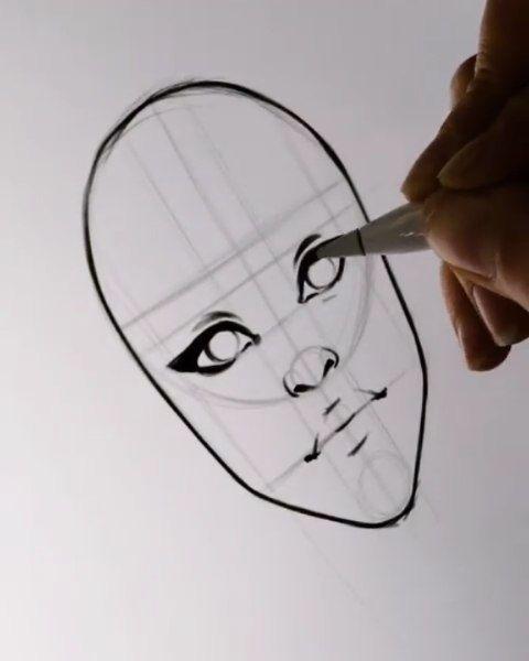3 305 Me Gusta 26 Comentarios Logo Inspiration Logobrainy En Instagram Face Tutorial In 2020 Drawing Tutorial Face Pencil Art Drawings Art Inspiration Drawing