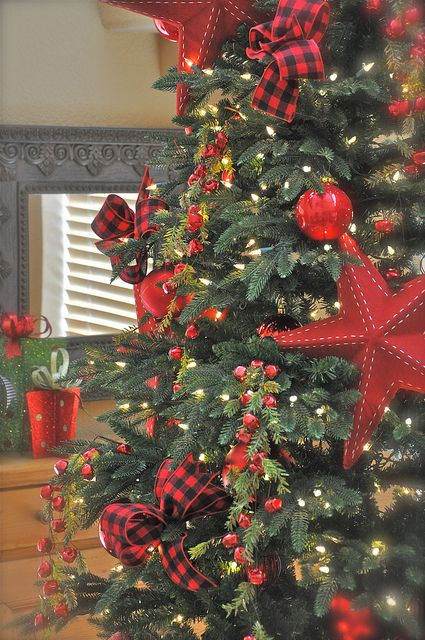 Ideas For Decorating A Christmas Tree With Ribbon