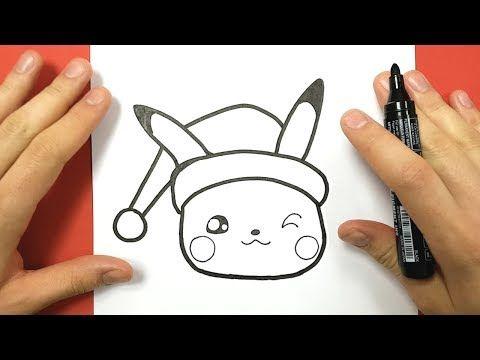 Comment Dessiner Un Cadeau De Noël Kawaii Youtube In 2019