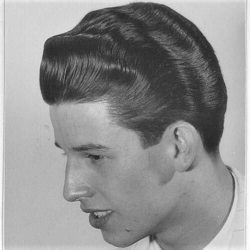 1950s Mens Hairstyles Ducktail