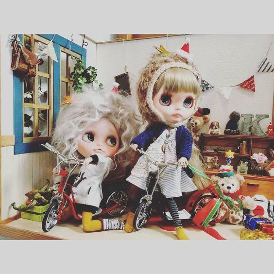 (๑˃̵ᴗ˂̵)و#blythedoll#ブライス#カスタムブライス#cute#KIKI#るぅと#doll #ドールハウス#ハンドメイド#革小物#ミニチュア