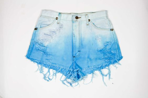 Reserved  WRANGLER High Waisted Bleached & Dip by shopbigbadwolf