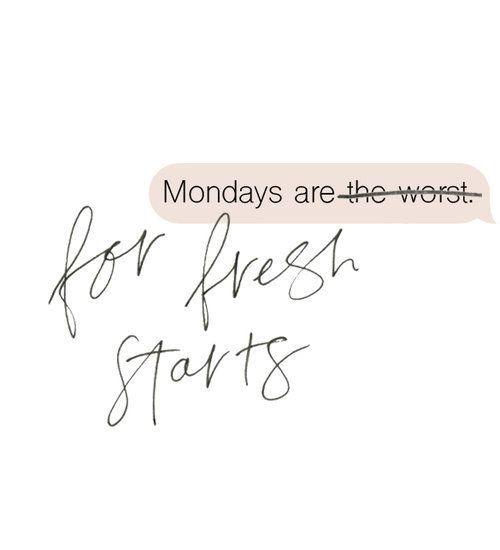 Monday health motivation