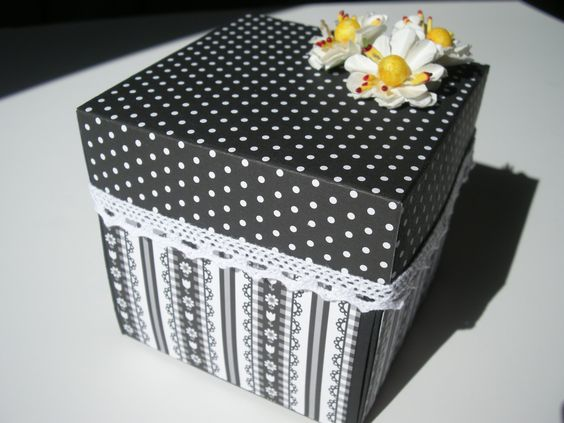 En este tutorial os explico como hacer una Explosion Box de una forma muy fácil. Aquí os dejo el enlace a la entrada del blog http://lascositasdescrap.blogsp...