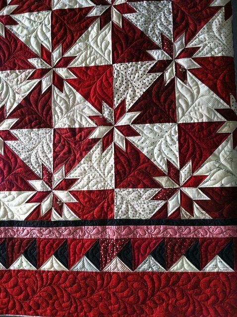 100 best Hunter Star quilts images on Pinterest | Fabric crafts ... : hunter star quilt pattern - Adamdwight.com
