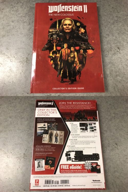 Strategy Guides And Cheats 156595 Wolfenstein Ii 2 New Colossus
