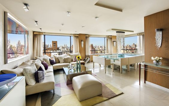"""Sun-Drenched Renovated Duplex  ...   190 East 72nd Street 24A, Upper East Side, NYC, Represented exclusively by S. Christopher Halstead, Edward """"Ward"""" Eagan, Lisa Y. Mathias, and The Halstead Team. See more eye candy on this home at http://www.halstead.com/15953743"""