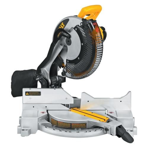 Dewalt 12 In 15 Amp Single Bevel Compound Miter Saw Lowes Com In 2020 Miter Saw Reviews Compound Mitre Saw Saws