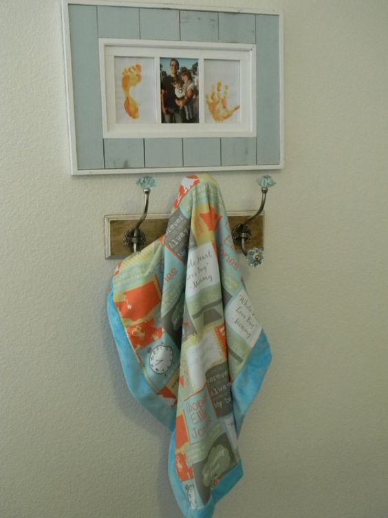 Adorable personalized baby blanket!