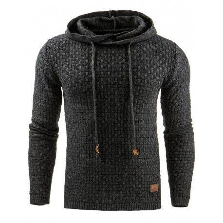 Moški pleten pulover
