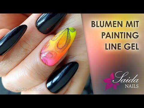 Neon Gradient Nails Blumen Mit Spidergel Summer Nails Youtube In 2020 Gradient Nails Summer Nails Summer Nails Neon