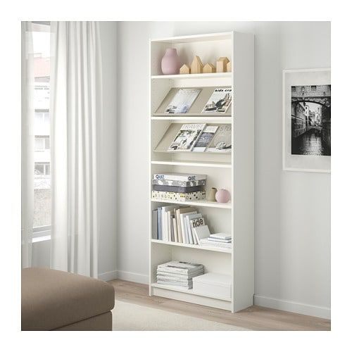 Billy Bottna Bookcase With Display Shelf Ikea Adjustable Shelves Can Be Arranged According To Your Needs Shelves Display Shelves Bookcase