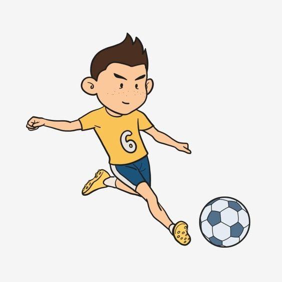 Free Cartoon Boy Playing Football Playing Football Characters European Cup Cartoon Kids Playing Football Png Transparent Clipart Image And Psd File For Free In 2020 Kids Playing Football Playing Football Cartoon Kids
